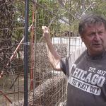 Bouw eerste muur te Jan Doret