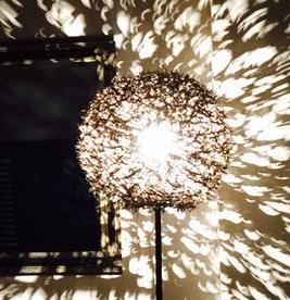 Lamp van doornen