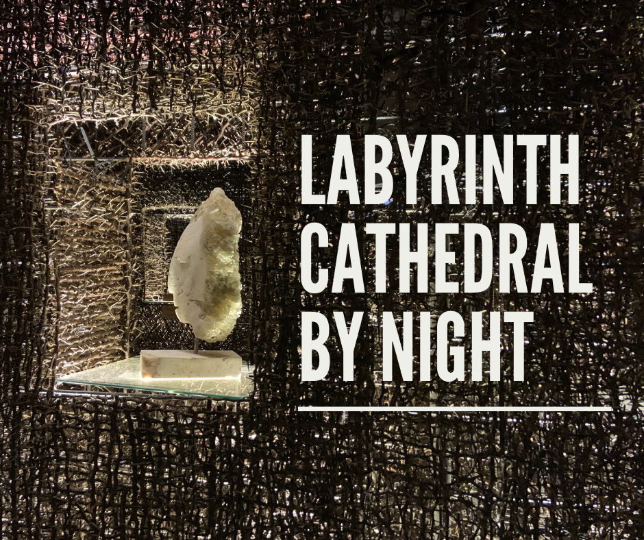 Labyrinth Cathedral by night