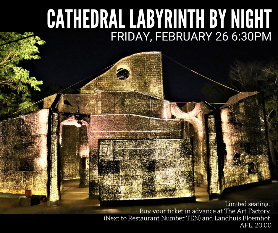 Cathedral Labyrinth by Night – Friday, February 26